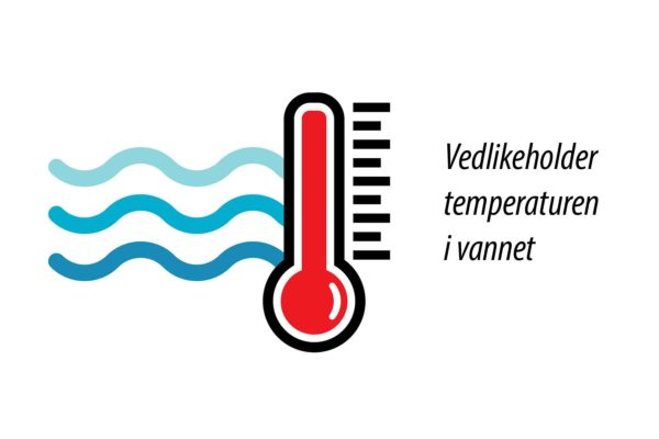 Varmekolbe for Interform badekar. Hold vann temperaturen varm